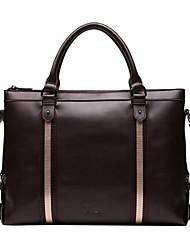 moda x.bnj cuero genuino de la vendimia de la alta calidad para los hombres maletines de cuero de diseño exclusivo bolso del negocio de