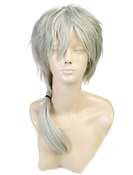 HOT SALE Nioh Masaharu Cosplay Wig Japan Anime Prince Of Tennis Short Straight Silver Gray Gray Costume Play