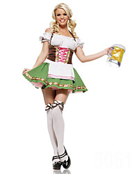 Cosplay Costumes/Party Costumes German Girls Terylene/Spandex Halloween Female Oktoberfest Costumes Halloween/Christmas/New Year