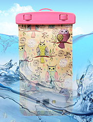 Owls Pattern Transparent Waterproof Touchscreen for iPhone 7 6s 6 Plus