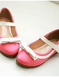 Girls' Shoes Casual Round Toe/Closed Toe Flats Pink/Beige