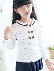 Kid's Casual/Cute Top & T-Shirt (Cotton/Lace)