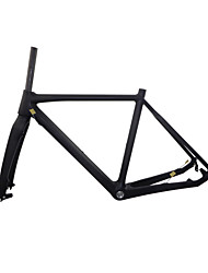 "RB-NT211+FK-NT211 3K Glossy Neasty Logo Disc Brake Full Carbon Fiber Frame and Fork 1-1/8""+1-1/2"" 51/55/57cm"