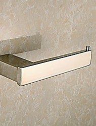 Mirror Polished Stainless Steel Toilet Paper Holder Wall Mounted Toilet Paper Roll Holder