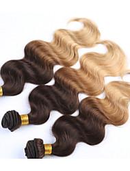 "3 Pcs/Lot+12""-26""+Peruvian (Italian) Virgin Hair+ color(natural black)+body wave.."