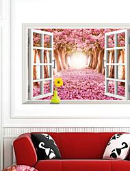 3d стены стикеры стены наклейки наклейки стиль вишня ПВХ стены