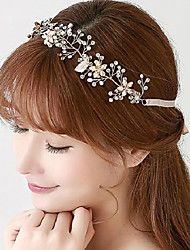 Rose Gold Romantic Crystal Stones Wedding/Party Headpieces/Headbands