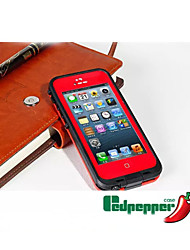 Waterproof Shockproof Dirt Snow proof  Case Cover Transparent Shell For iPhone 5/5s