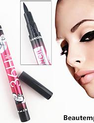 nouvelle crayon noir lisse imperméable à l'eau liquide durable d'oeil de stylo eye-liner liner plume molle professionnelle