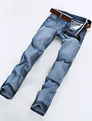Men's Casual/Work/Sport Print Pant/Jeans (Cotton)