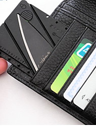 Credit Card As Big Folding Knife