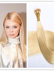 Stick Cheveux / i basculer extension de cheveux vierge kératine capsule fusion cheveux 1g / s 100g / pc 1pc / lot pré-collé en stock
