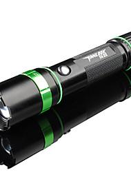TanLu 3 Mode 250 Lumens LED Flashlights/Handheld Flashlights 18650 Adjustable