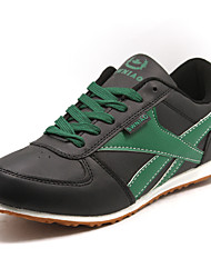 Men's Shoes Athletic Leatherette Athletic Shoes Green / White