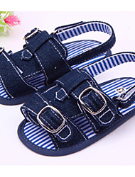 Baby Shoes Casual Canvas Sandals Blue/Neutral