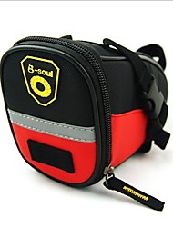 B-SOUL® Bolsa de Bicicleta 20LBolsa para Bagageiro de Bicicleta Multifuncional Bolsa de Bicicleta Pele PU / Poliéster 1680DBolsa de