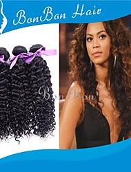"8""-24""Brazilian Human Hair Weaving Kinky Curly 3PCS"