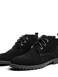 Men's Shoes Office & Career/Party & Evening/Casual Boots Black/Brown