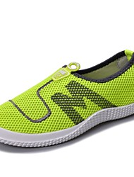 Men's Shoes Casual Fabric/Tulle Fashion Sneakers Blue/Green/Gray