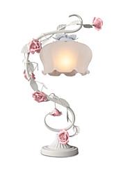 boxomiya® fleurs ornementales rurales européennes et des plantes de chambre du haut d'une lampe de roses de lampe de chevet