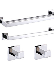 304 stainless steel Mirror Polished Wall Mounted Bathroom Accessory Sets