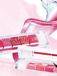 Gloss Labial Molhado / Brilho Gel Humidade / Longa Duração / Natural / Nutrição Rosa