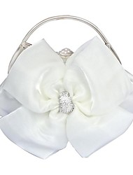 Handbag Silk Evening Handbags/Clutches With Crystal/ Rhinestone/Lace