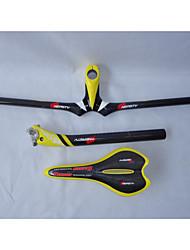 Bike Selle/Manubrio/Reggisella - Mountain bike - Altro - di Completamente in Carbonio - Giallo