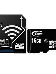 team originale tf (micro-sd) class10 carta (16gb) tusdh16gcl scheda di memoria con adattatore SD wifi
