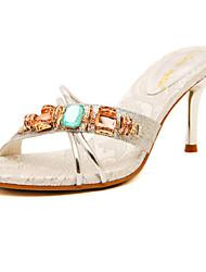Women's Shoes  Stiletto Heel Heels Sandals Casual Silver/Gold