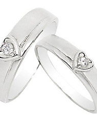 Alliances Amoureux Diamant Platiné Platiné