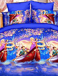 Lai Of Cosette's Creative 3 d Fashion Bedding Four Sets Of Ice And Snow World