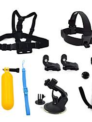 ourspop gp-k21 kit para GoPro Hero 4 3 + / 3/2/1 camera-7-in uma acessórios