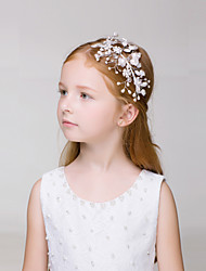 Flower Girl's Alloy Headpiece - Wedding/Casual/Outdoor Headbands 1 Piece