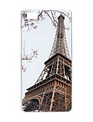 Pour Coque Huawei P8 P8 Lite Motif Coque Coque Arrière Coque Tour Eiffel Dur Polycarbonate pour HuaweiHuawei P8 Huawei P8 Lite Huawei P7