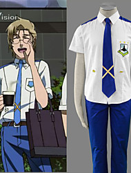 Cosplay Vigour The Super Dimension Fortress Macross Mikhail Blanc Cosplay Costume
