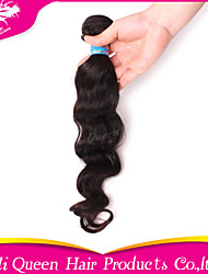 "Ali Queen hair products Hot sale high quality unprocessed human virgin hair peruvian wave hair 10""-30"" 1pc lot"