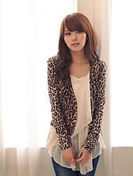 NUNEU   Women's Casual Round Long Sleeve Coats & Jackets (Cotton)