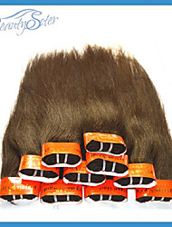 "Wholesale Cheap Malaysian Human Hair Silk Straight Style 1Kg Color Brown Beauty Hair 14""~22"" Grade5A Cheap Hair"