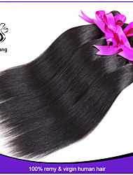 Peruvian Virgin Hair Straight 3 pcs lot 7A Unprocessed Human Hair Weave Extensions Peruvian Straight Hair
