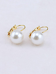 Earring Stud Earrings / Drop Earrings Jewelry Women Alloy / Imitation Pearl / Cubic Zirconia 1set Gold / Silver