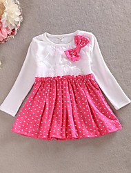 Girl's Dress Cotton Spring / Fall