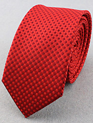 Cravates ( Rouge , Polyester ) Grille