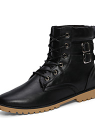 Men's Shoes Outdoor Boots Black/Brown