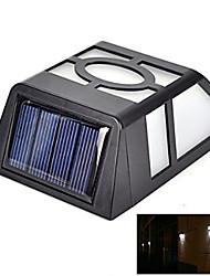 Outdoor-2 führte Solarlichtsensor Zaun Wandleuchte Gartenlampe Gartenpfad