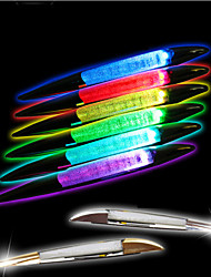 Newest Hot Sale Automotive Multi-function Shark Gills Solar Lights Car Emergency  Warning Lights Decorative Lights