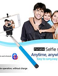 98 centimetri estensibile bastone auto selfie cablata supporto portatile del telefono mobile per il iphone 5s 6 samsung universale