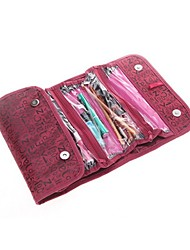 Korean Style Folding Oxford Cosmetic Bag Travelling Collecting Bag Outdoor Waterproof Home-used Wall-hanging