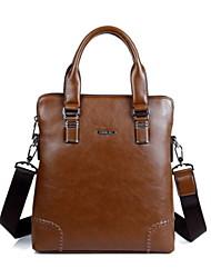 d 'hommes PU sac de week-end épaule sacs / emballages - marron