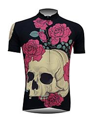 Fineou New Fashion Men's Cycling Short Sleeve Quick Dry Full Zipper